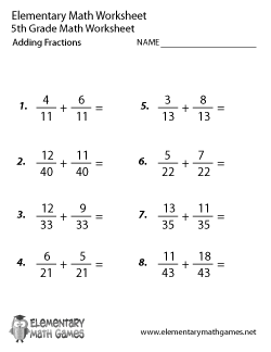 Printables 7th Grade Math Fractions Worksheets add fractions worksheet abitlikethis fifth grade math worksheets
