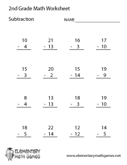Printables Math Worksheets For 2nd Graders Printable 2nd grade math worksheets pdf davezan free printable for second abitlikethis