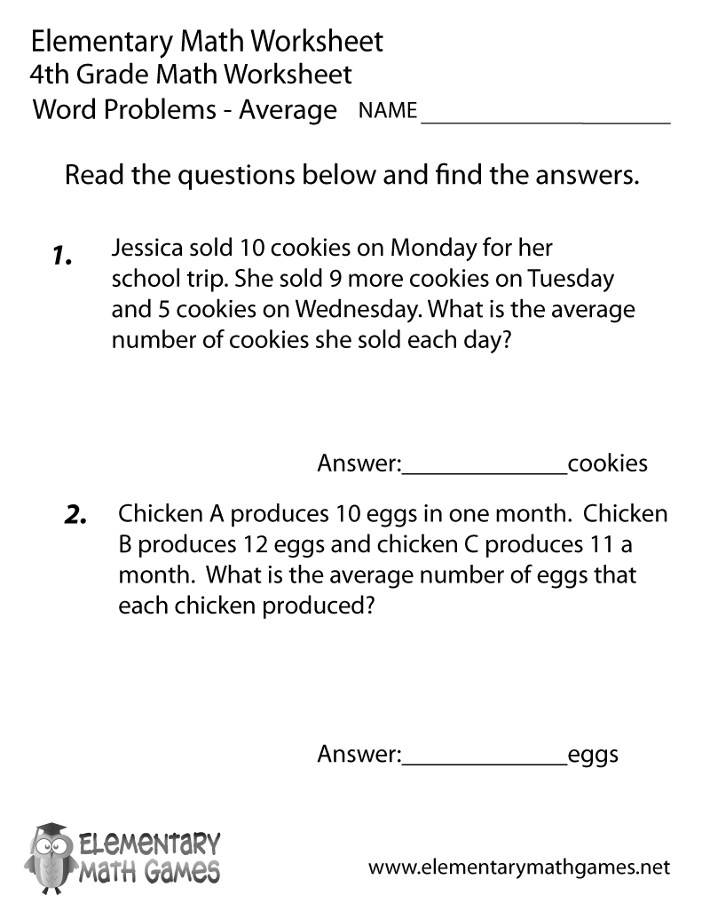 math worksheets 4th grade word problems world of reference. Black Bedroom Furniture Sets. Home Design Ideas